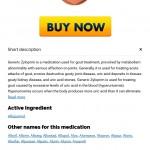 Order Allopurinol Canada * Zyloprim Online Price