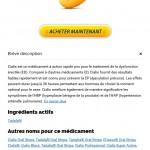 Forum Achat Cialis | Expédition Immédiate | Toutes les cartes de crédit acceptées