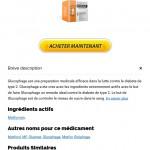 prix le moins cher Metformin   Glucophage Pharmacie En Ligne Fiable