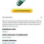Cephalexin Acheter – prix moins chère
